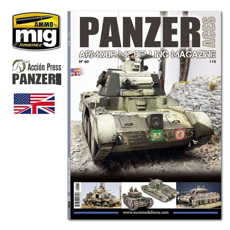 【新製品】パンツァーエイセス No.60 WWII イギリス戦車特集