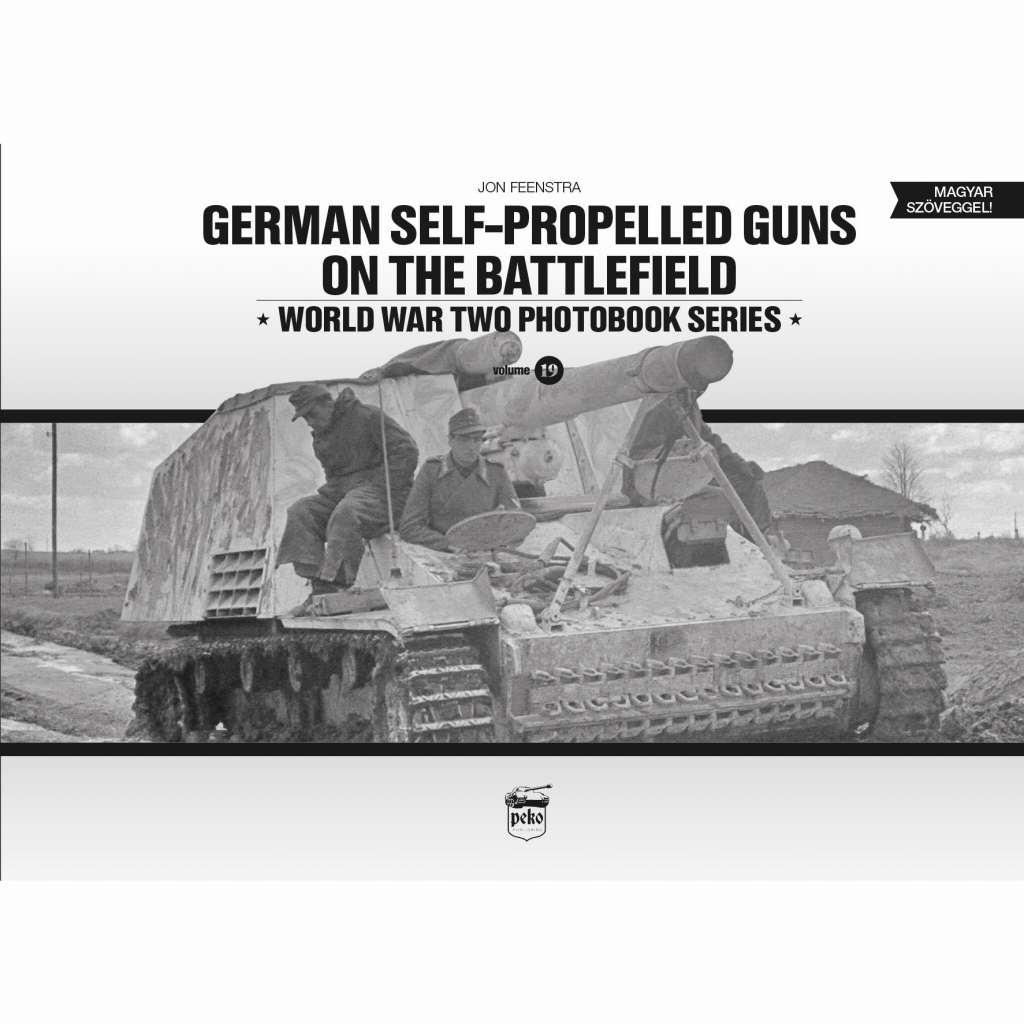 【新製品】PEKO8316 ドイツ軍自走砲 戦場写真集