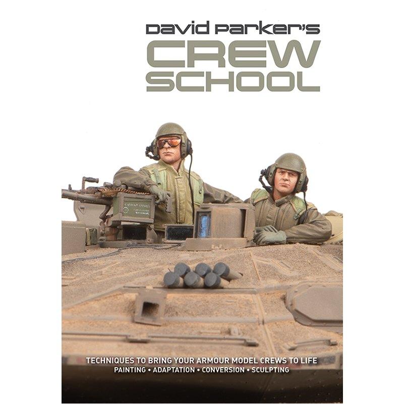 【新製品】AFVmodeller別冊 DAVID PARKER'S CREW SCHOOL