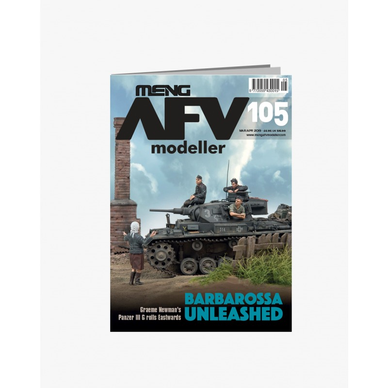 【新製品】AFVmodeller105 BARBAROSSA UNLEASHED