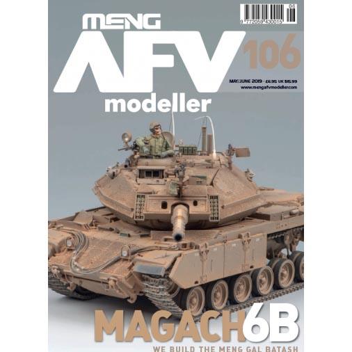 【新製品】AFVmodeller106 MAGACH6B