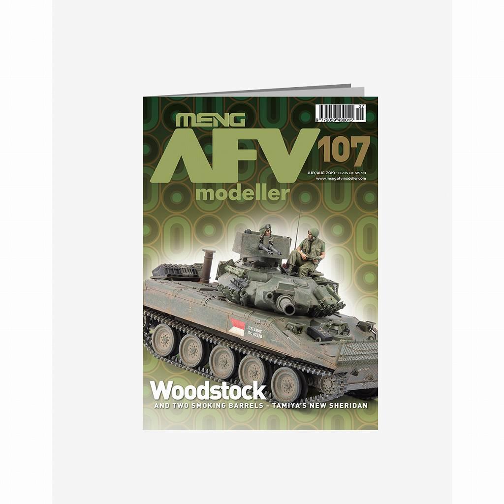 【新製品】AFVmodeller107 Woodstock