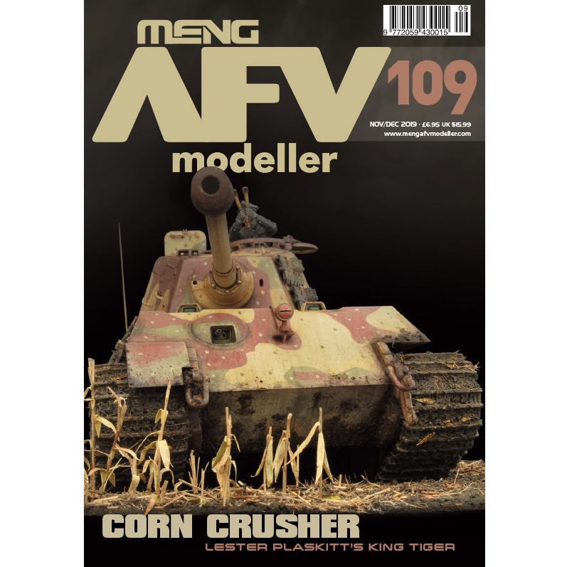 【新製品】AFVmodeller109 CORN CRUSHER
