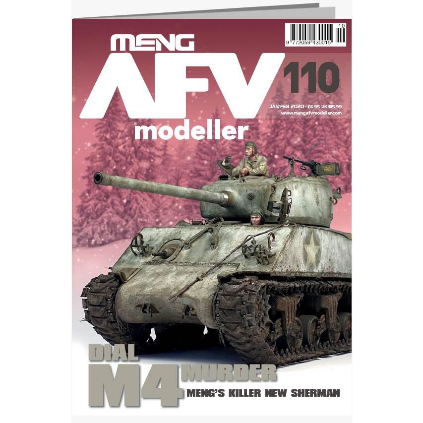 【新製品】AFVmodeller110 DIAL M4 MURDER