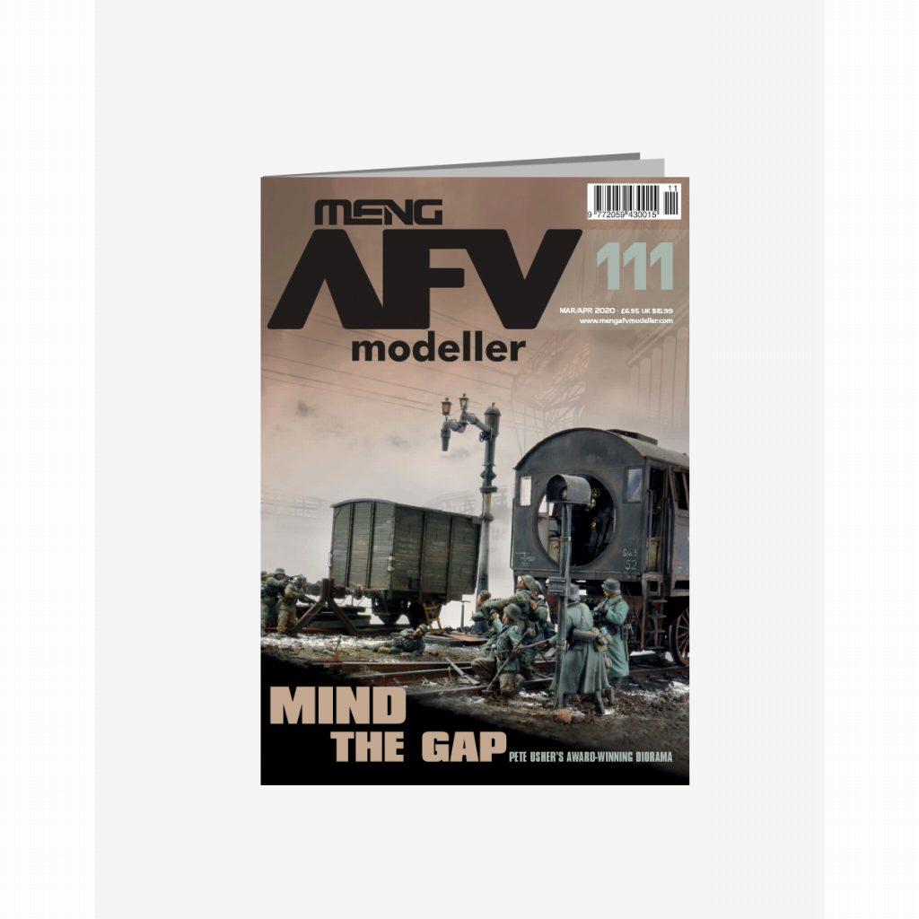 【新製品】AFVmodeller111 MIND THE GAP
