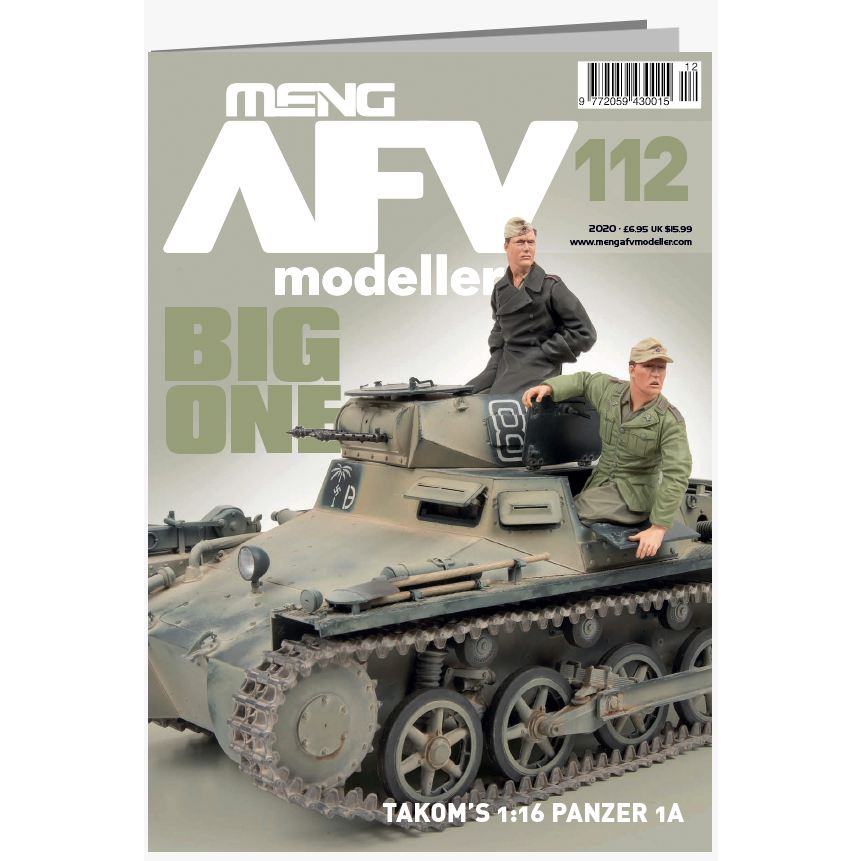 【新製品】AFVmodeller112 BIG ONE