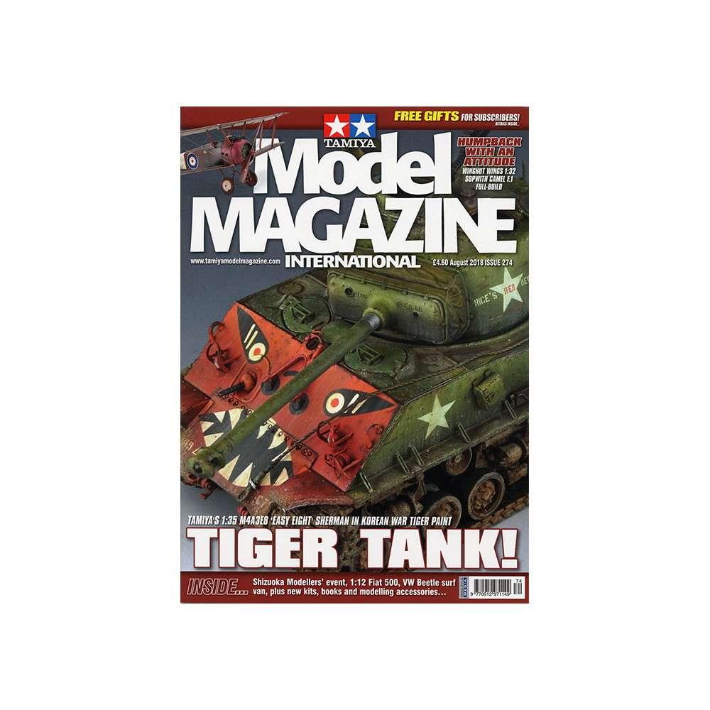 【新製品】タミヤモデルマガジン 274 TIGER TANK!