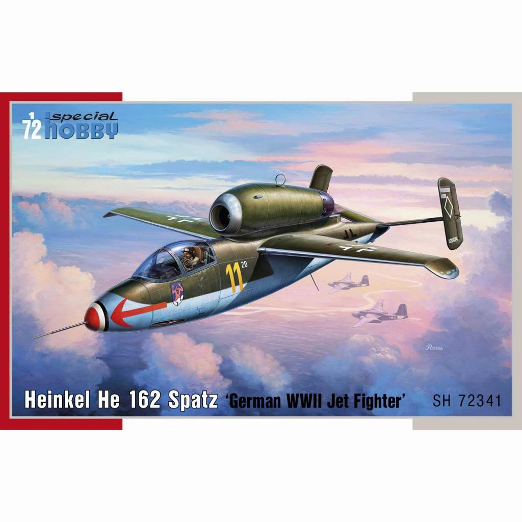 【新製品】72341 ハインケル He162 シュパッツ