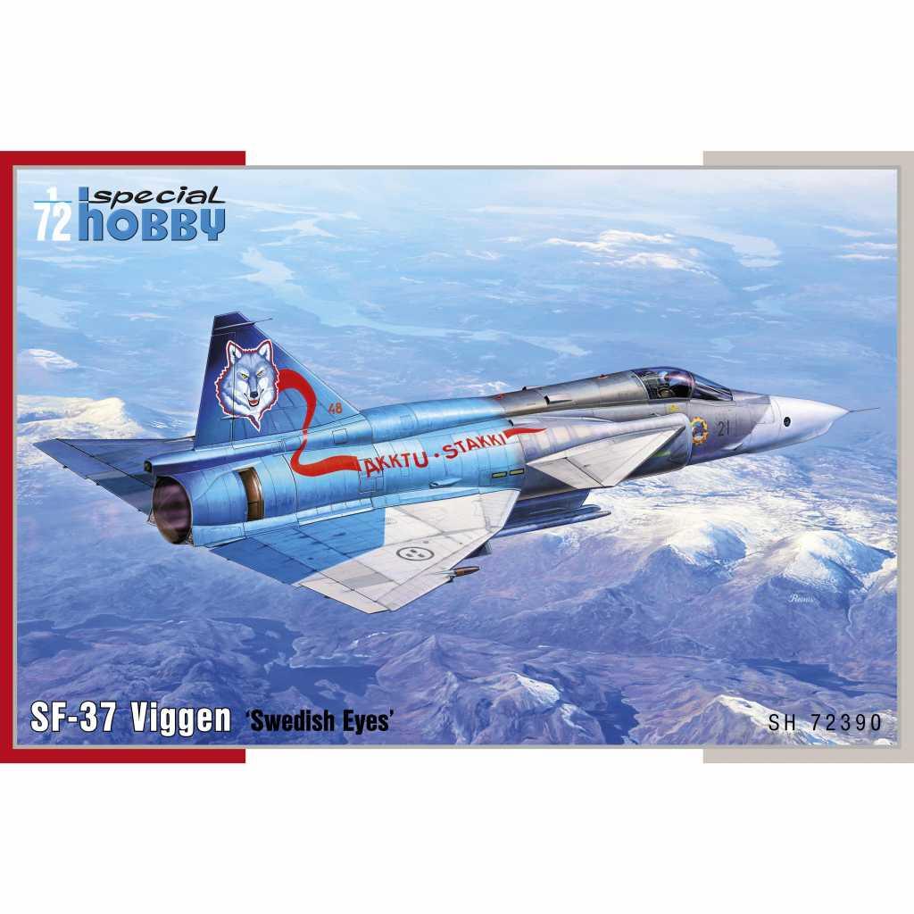 【新製品】72390 サーブ SF-37 ビゲン 偵察機