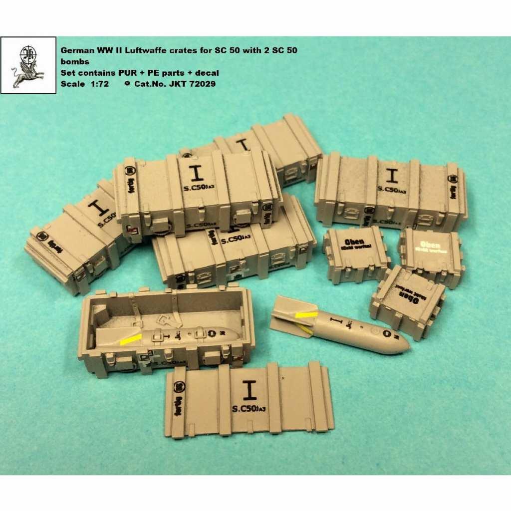 【新製品】JKT72039 WWII ドイツ SC50 爆弾 w/ケース
