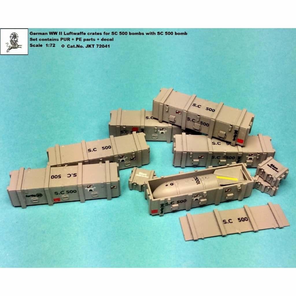 【新製品】JKT72041 WWII ドイツ SC500 爆弾 w/ケース