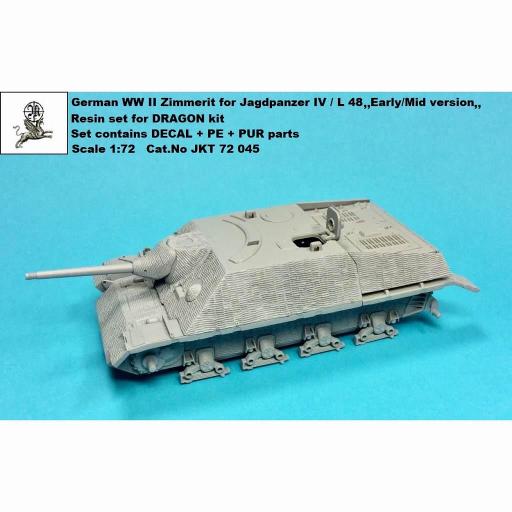 【新製品】JKT72045 IV号駆逐戦車 L/48 初期/中期型用ツィメリットコーティング