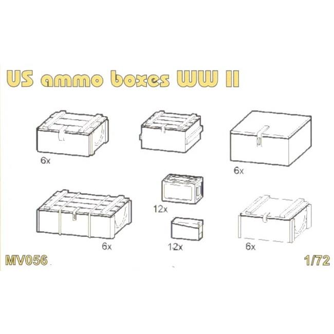 【新製品】MV056 WWII 米 弾薬箱セット