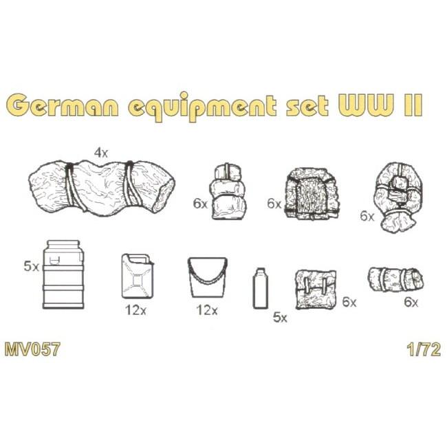【新製品】MV057 WWII 独 装備品セット