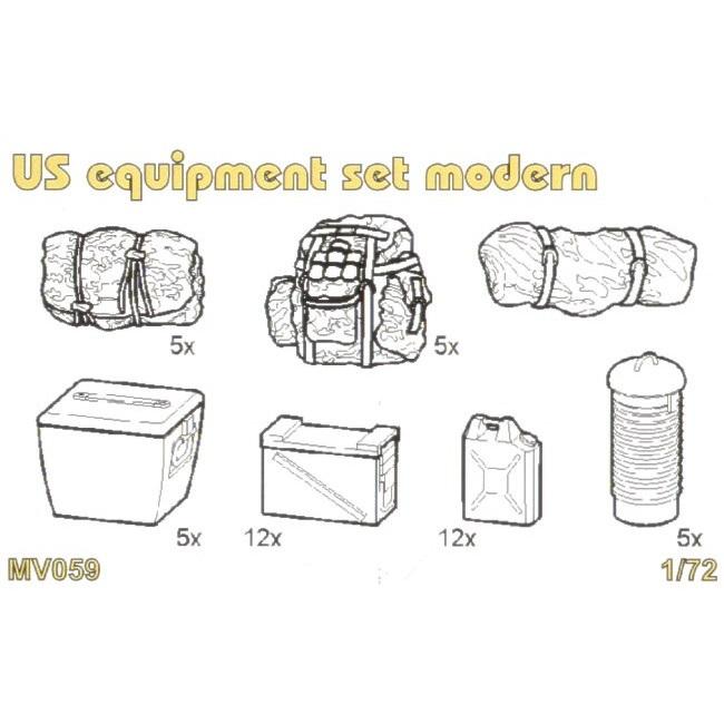 【新製品】MV059 現用 米 装備品セット