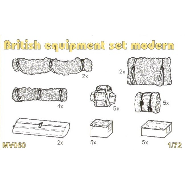 【新製品】MV060 現用 英 装備品セット