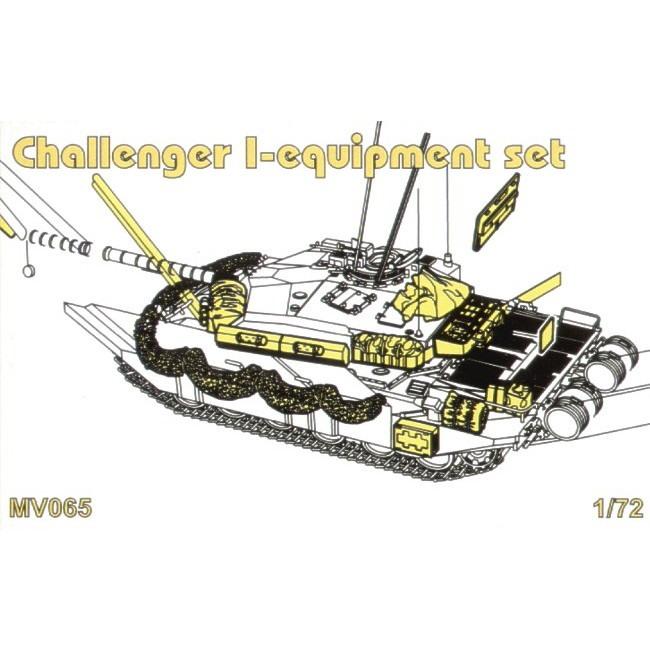 【新製品】MV065 チャレンジャーI 装備品セット