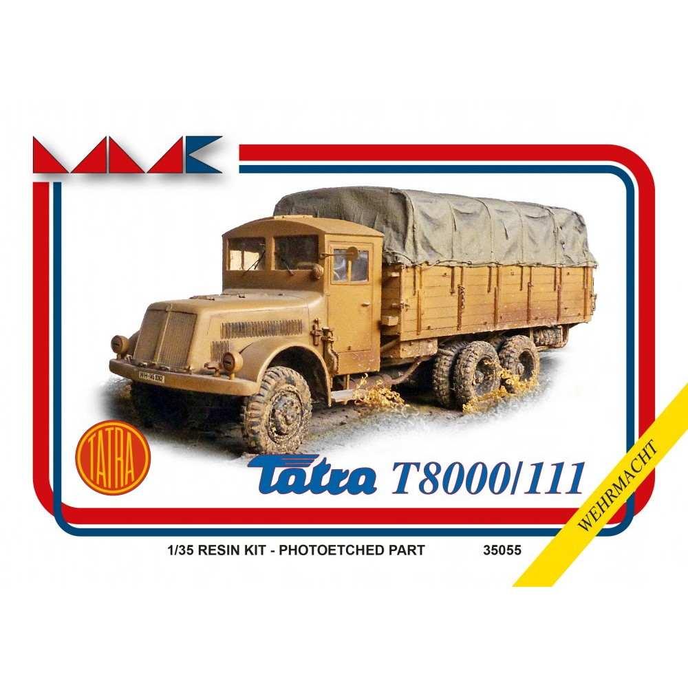 【新製品】35055 ドイツ軍 タトラ T8000/111 トラック