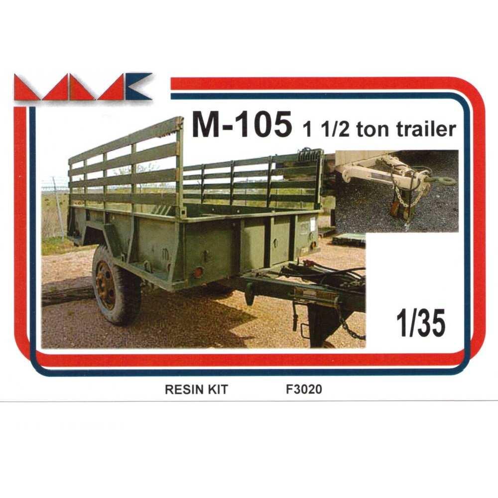 【新製品】F3020 アメリカ M105 1 1/2 トレーラー