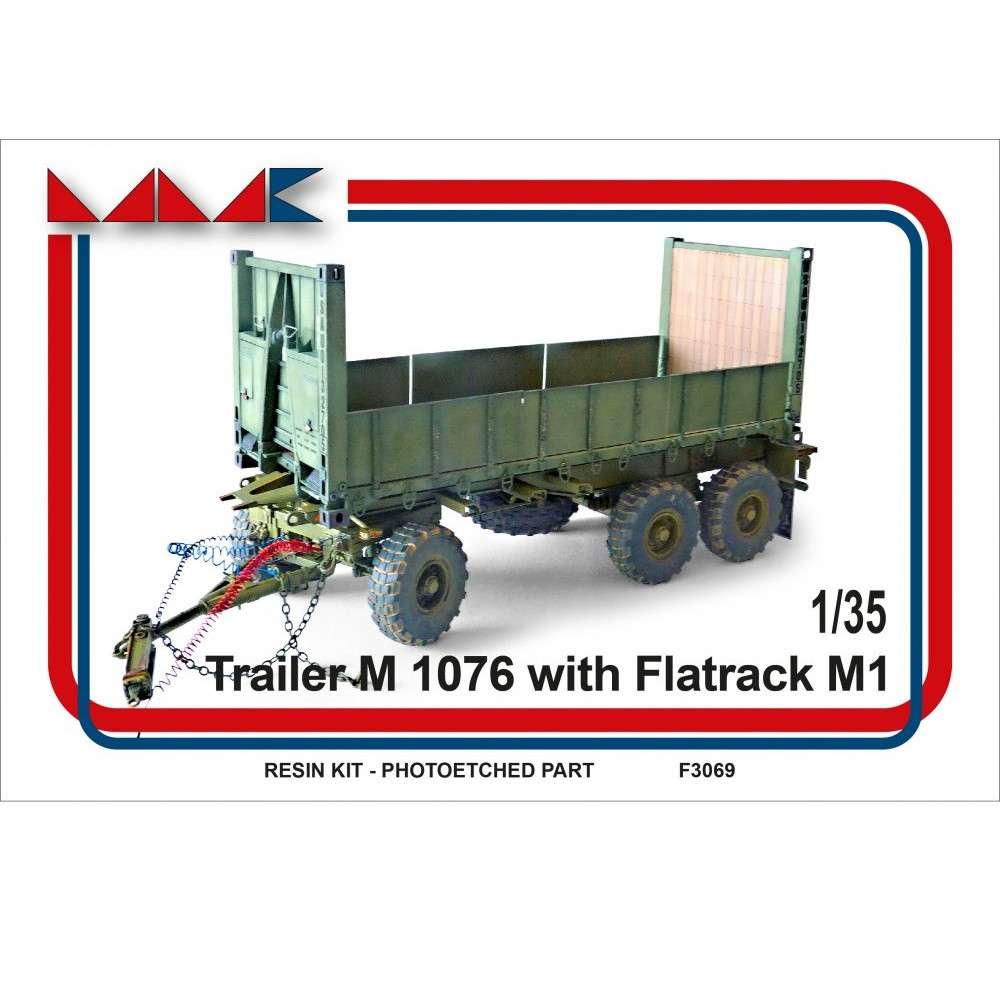 【新製品】F3069 アメリカ M1076 PLS トレーラー w/M1 平荷台