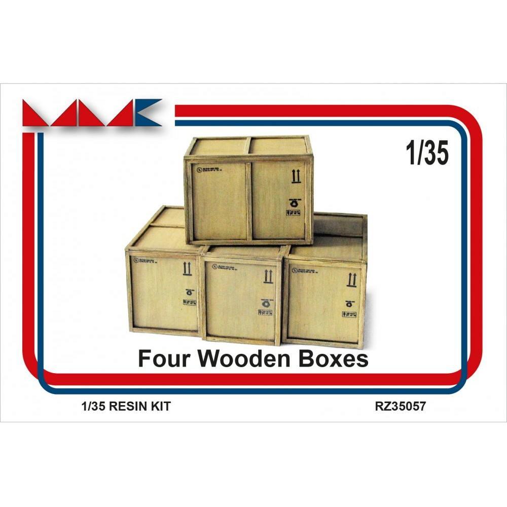 【新製品】MKRZ35057 大型木箱 4個セット