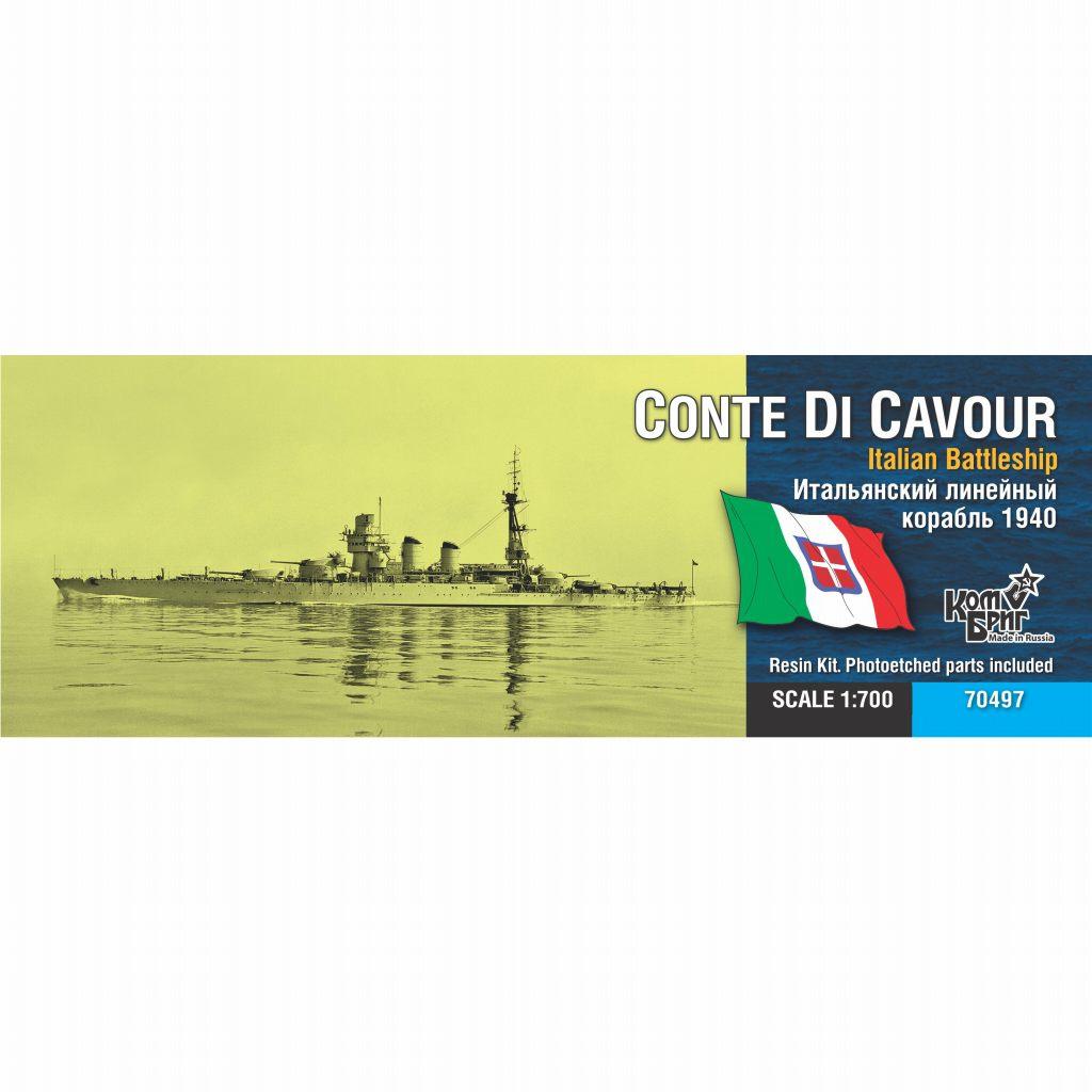 【新製品】70497 伊海軍 コンテ・ディ・カブール級戦艦 コンテ・ディ・カブール Conte di Cavour 1941