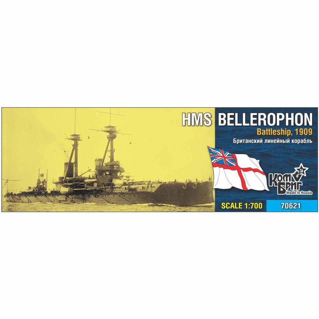【新製品】70621 英国海軍 ベレロフォン級戦艦 ベレロフォン Bellerophon 1909