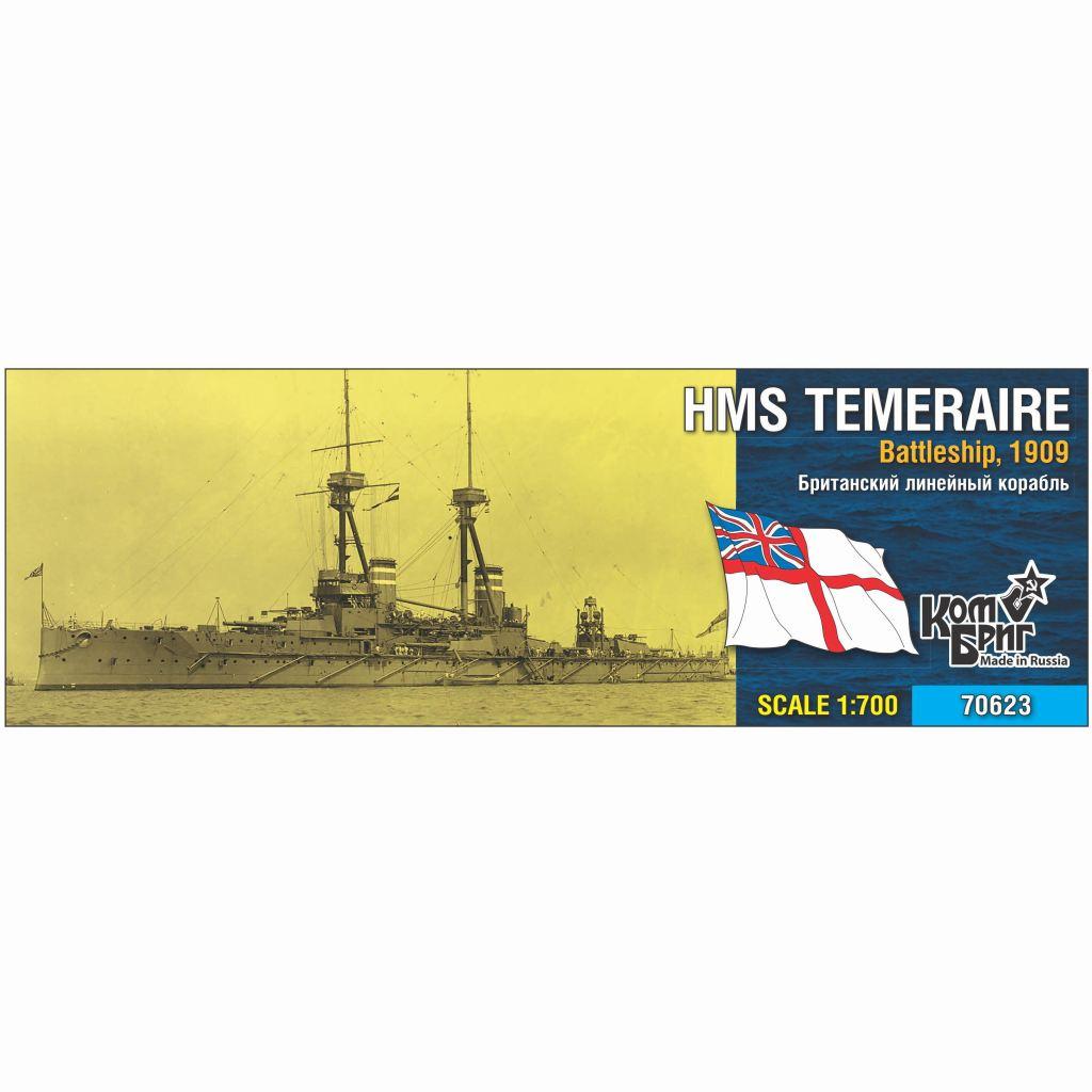 【新製品】70623 英国海軍 ベレロフォン級戦艦 テメレーア Temeraire 1909