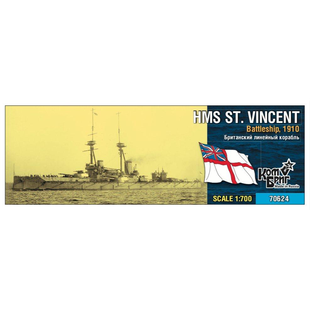 【新製品】70624 英国海軍 セント・ヴィンセント級戦艦 セント・ヴィンセント St. Vincent 1910