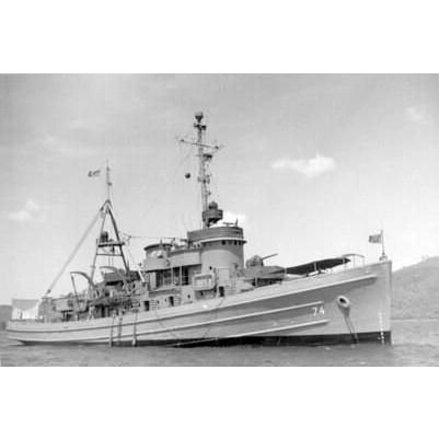 【新製品】090 艦隊曳船 ATF-74 パウニー Pawnee