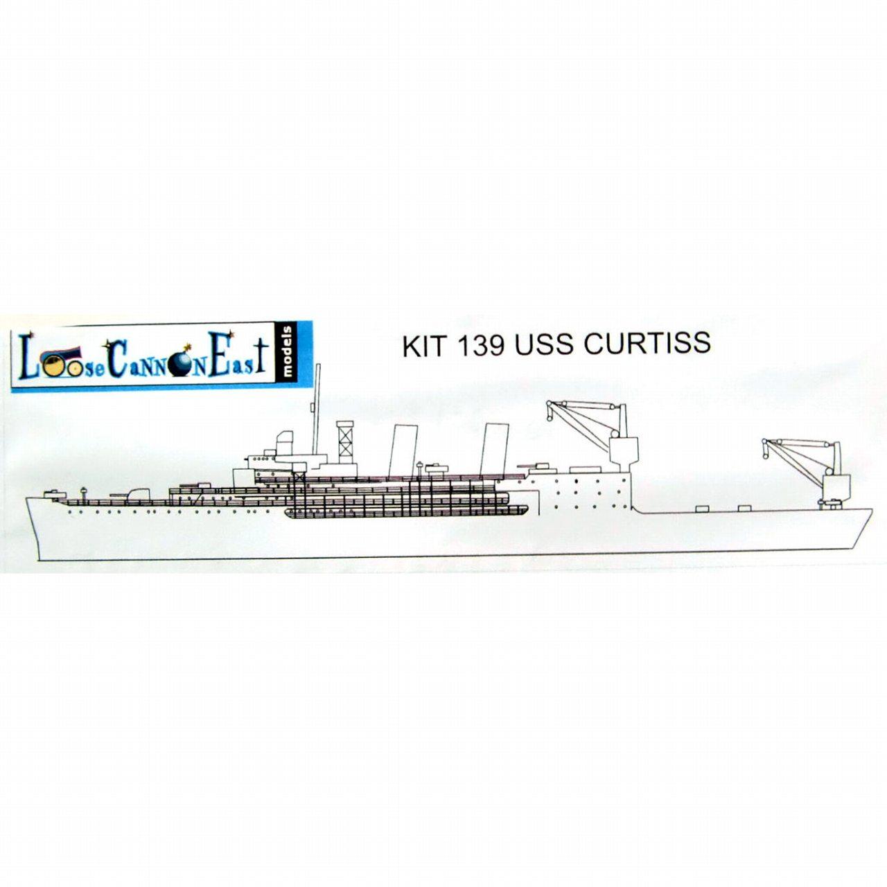 【新製品】139 米海軍 カーティス級水上機母艦 AV-4 カーティス Curtiss
