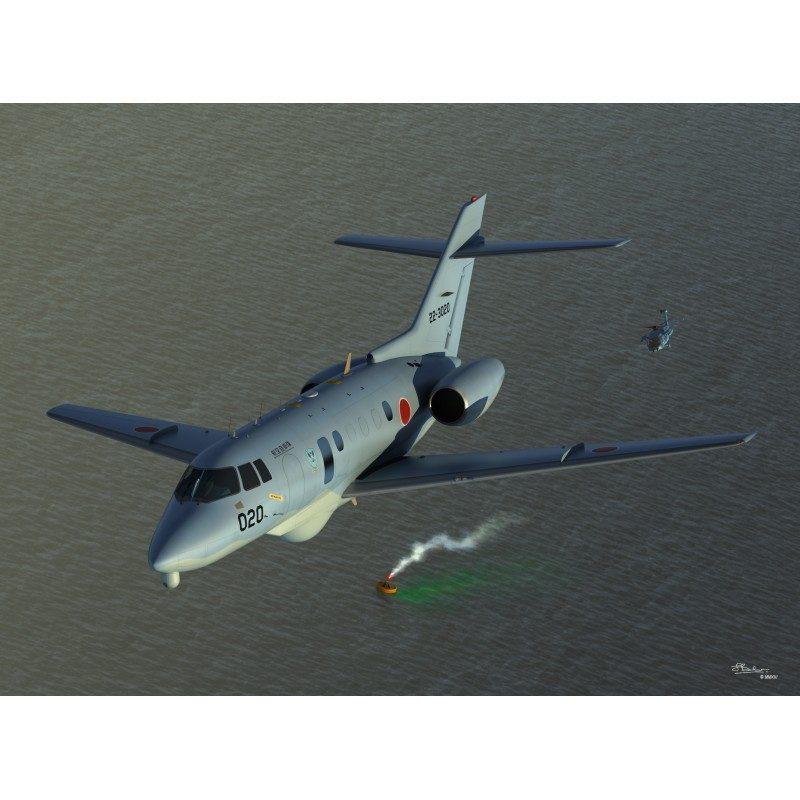 【新製品】72119 ビーチクラフト U-125A 救難捜索機