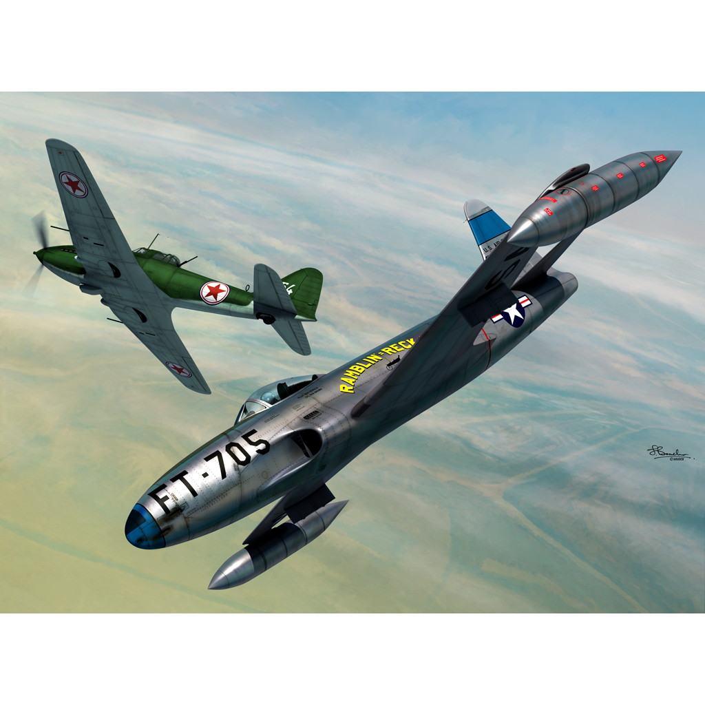 【新製品】72128 P-80C vs Il-10 「朝鮮戦争」 2in1限定版