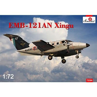 【新製品】72364 エンブラエル EMB-121AN シングー フランス海軍