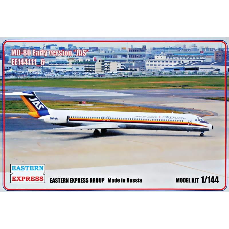 【新製品】144111-6 マクドネル・ダグラス MD-80 初期タイプ 日本エアシステム