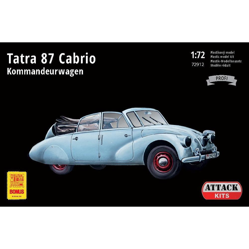 【新製品】72912 タトラ T87 カブリオ