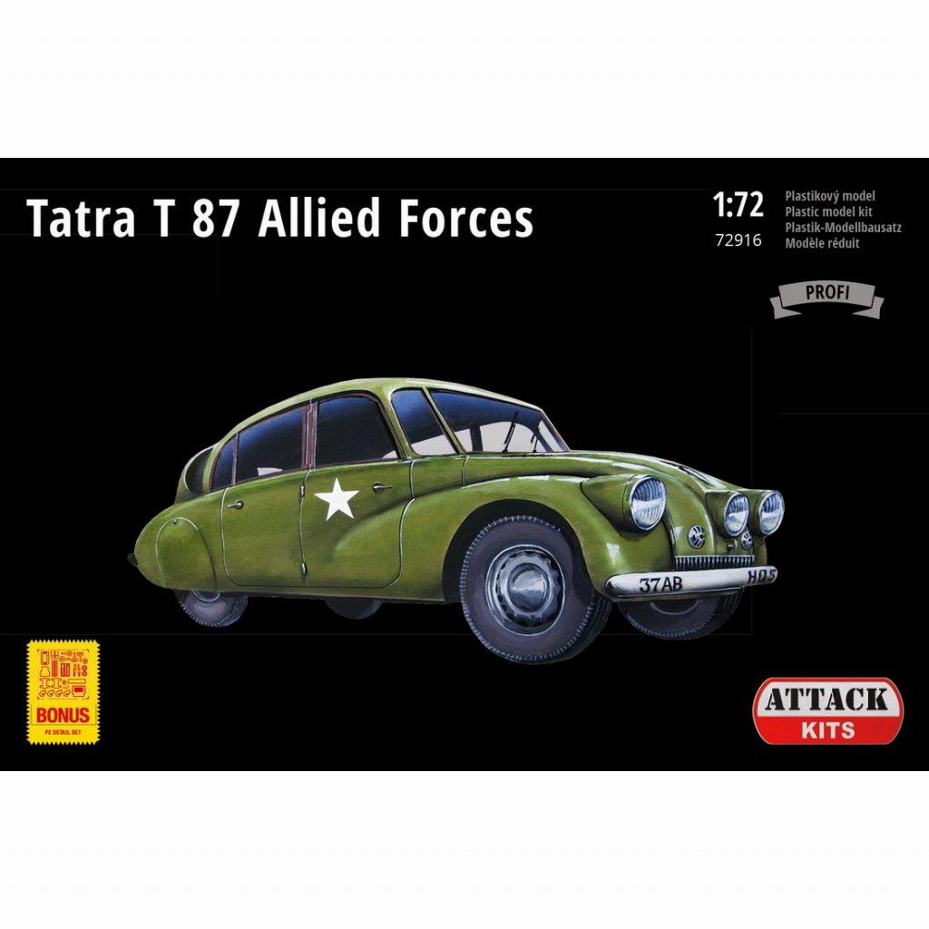 【新製品】72916 タトラ T87 連合軍