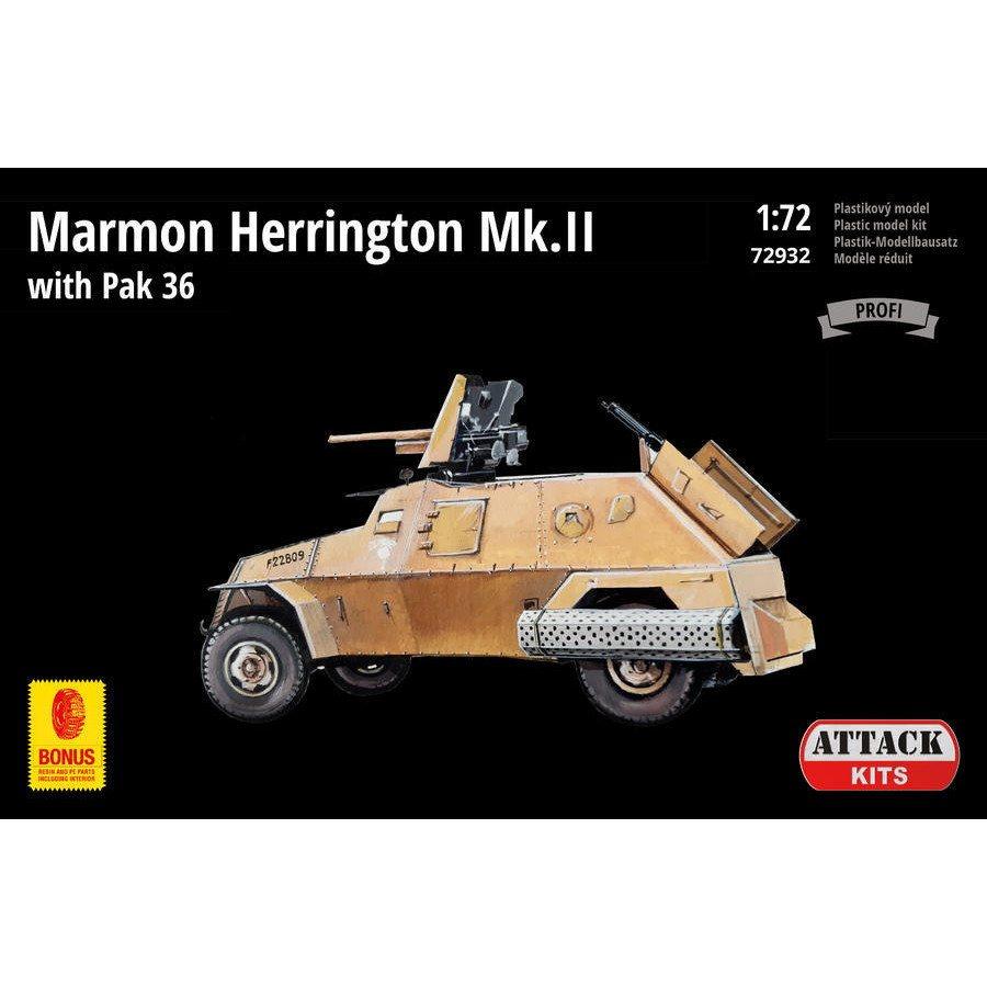 【新製品】72932 マーモン・ヘリントン装甲車 Mk.II w/PaK36