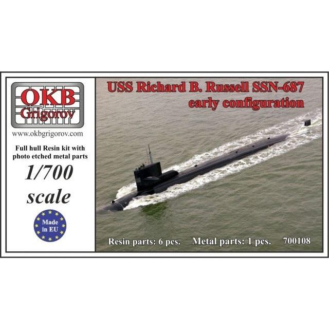 OKBグリゴロフ 1/700潜水艦キッ...