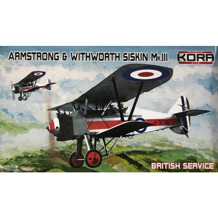 【新製品】KPK72112 アームストロング・ホイットワース シスキン Mk.III 「イギリス」