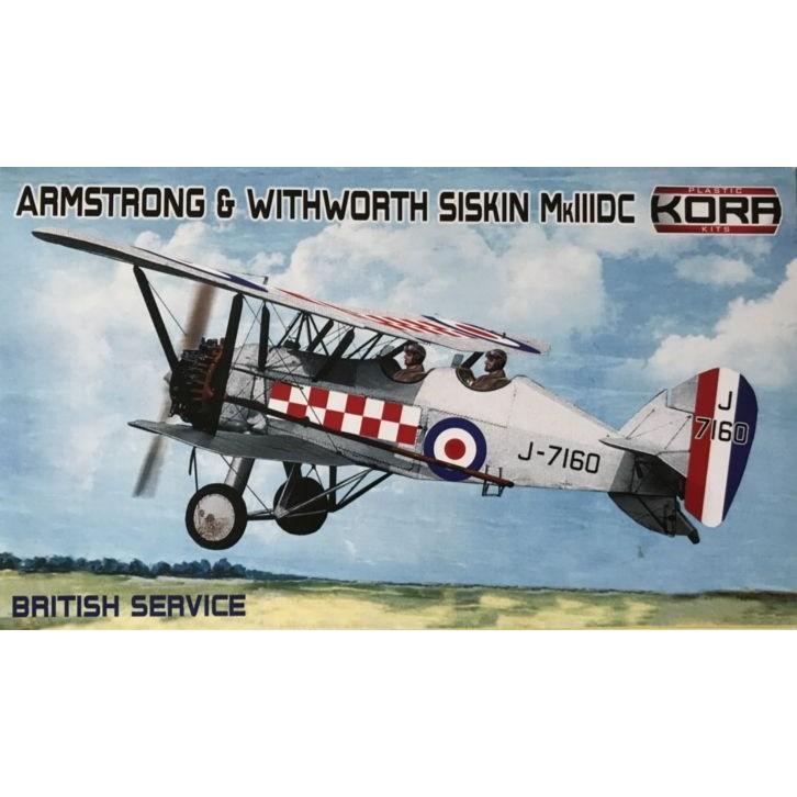 【新製品】KPK72113 アームストロング・ホイットワース シスキン Mk.IIIDC 「イギリス」