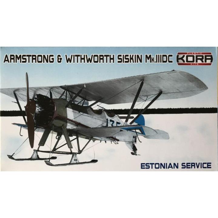 【新製品】KPK72114 アームストロング・ホイットワース シスキン Mk.IIIDC 「エストニア」