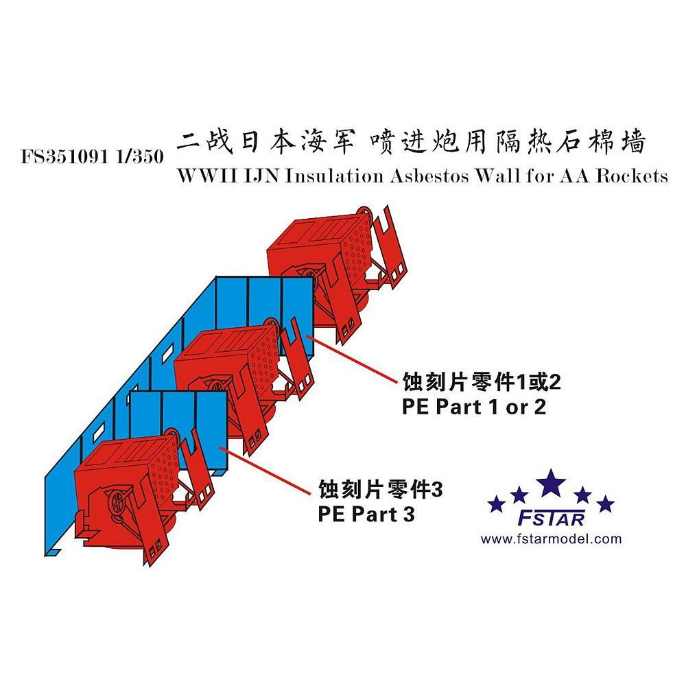 【新製品】FS351091 日本海軍 噴進砲用 防炎衝立