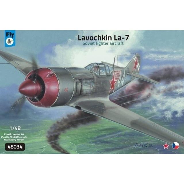 【新製品】48034 ラヴォーチキン La-7 戦闘機