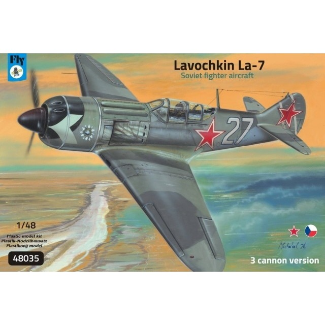 【新製品】48035 ラヴォーチキン La-7 戦闘機 武装強化型