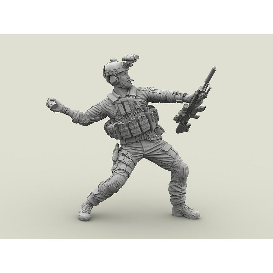 【新製品】LF3D024 米 ネイビーシールズ #4 M18手榴弾を投げる狙撃兵