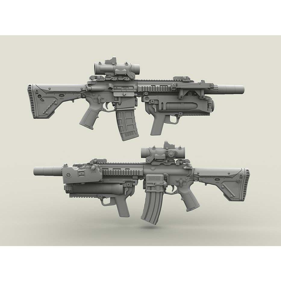 【新製品】LF3D027 H&K HK416 アサルトライフル & XM320 グレネードランチャー