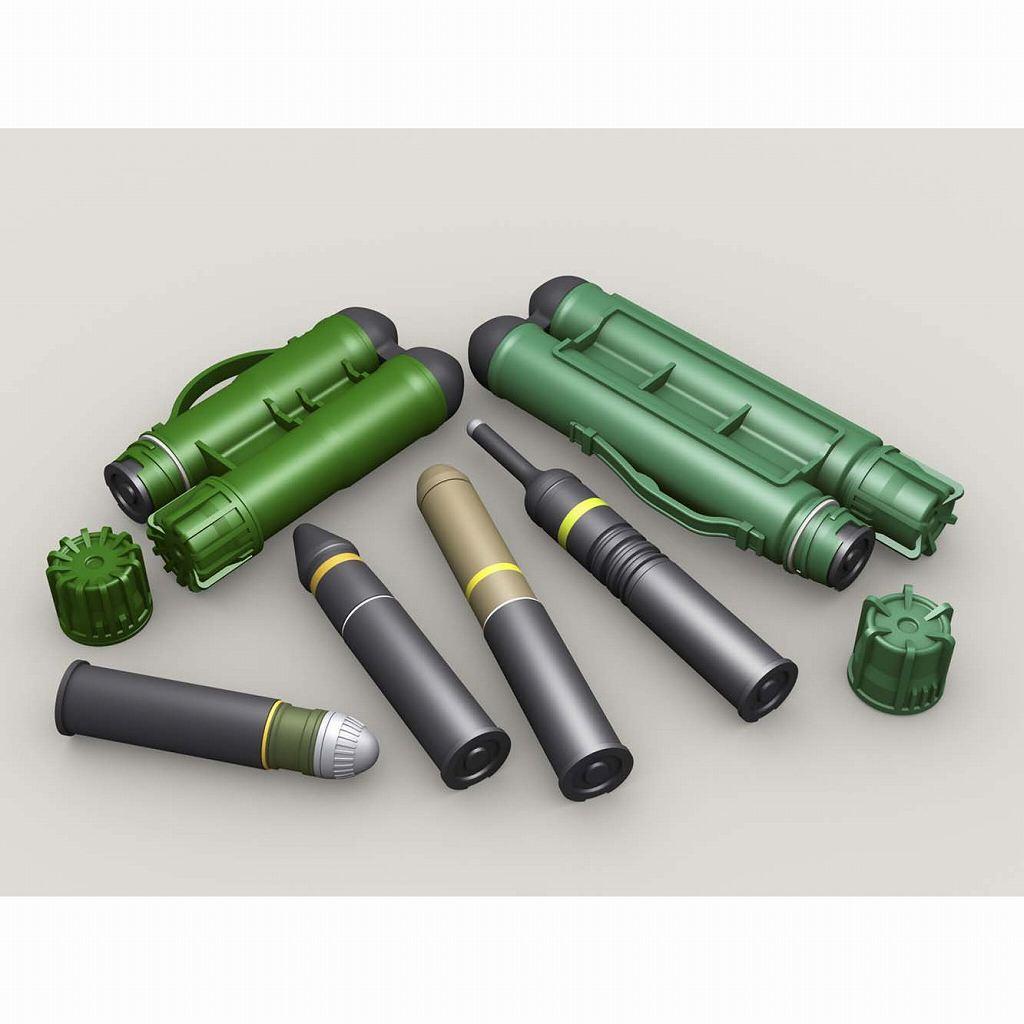 【新製品】LF3D065 カールグスタフ ツインコンテナ&弾薬