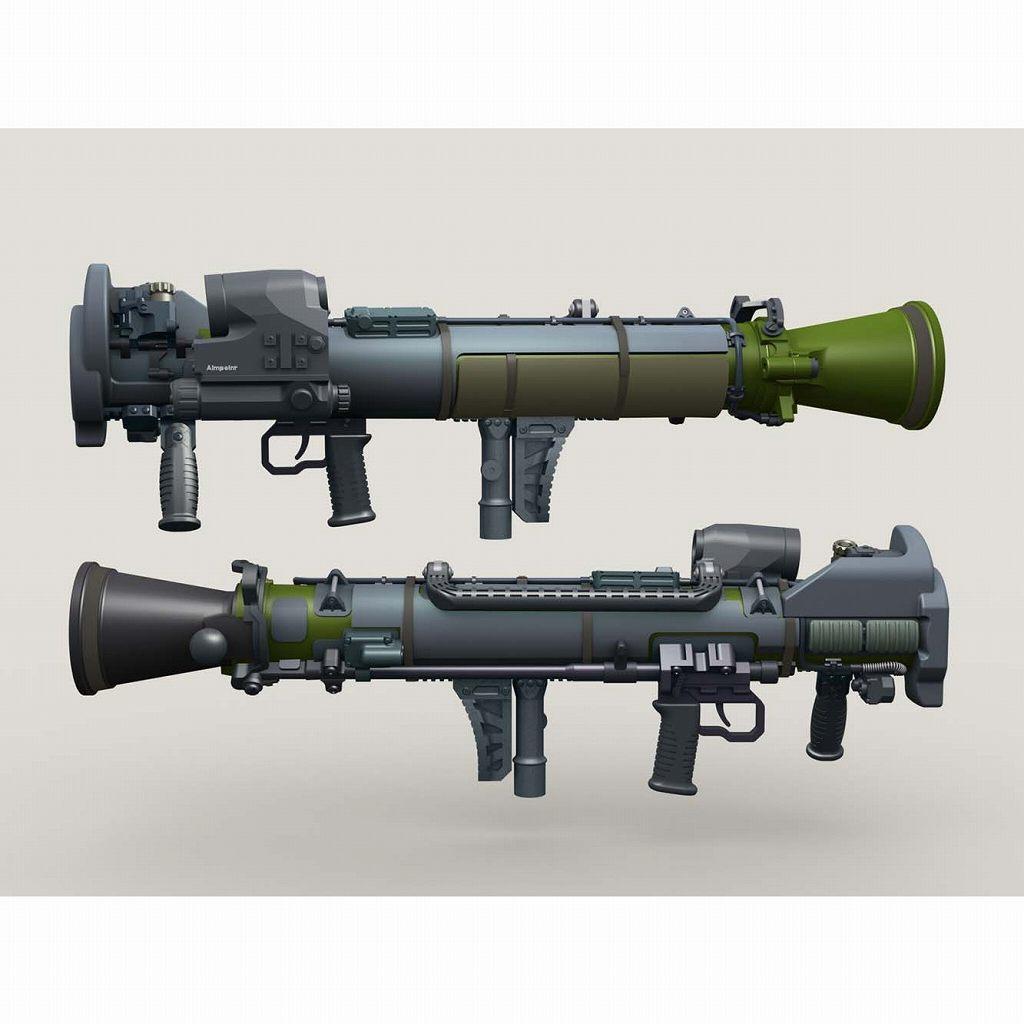 【新製品】LF3D068 カールグスタフ M068 84mm マルチロールウェポンシステム w/カバー