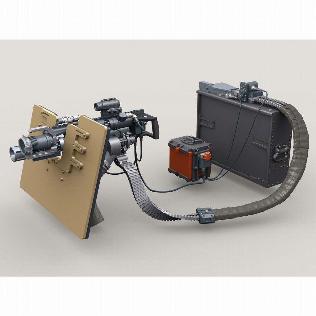 【新製品】LF3D069 M134 ミニガン SAG シールドマウント w/4000発マガジン